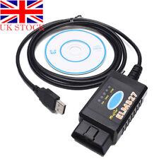 ELM327 USB modified for Ford ELMconfig HS-CAN & MS-CAN Forscan OBD2 ELMconfig UK