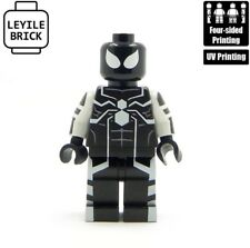 LYL BRICK Custom Spider-man Black Future Foundation Minifigure
