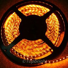 3X 5m 500CM ORANGE 3528 SMD LED Flexible 600 LEDS Strip