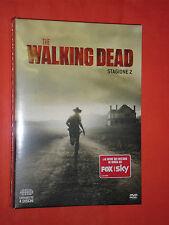 WALKING DEAD- STAGIONE 2 -DUE-CON 4 DVD +13 EPISODI-film-sigillato NUOVO 540 MIN