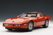 1986 CHEVROLET CORVETTE BRIGHT RED 71241 1:18 Scale AUTOart SPECIAL SALE AUCTION