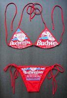 Swimming Costume BIKINI Budweiser Swimsuit Ladies Swimwear MANY COLORS Available