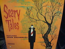 ZACHERLEY SCARY TALES RECORD LP  HALLOWEEN