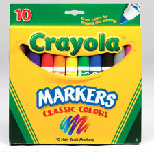 Crayola  Classic  Assorted  Broad Tip  Marker  10 pk