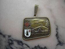 Medaille Gillerbergfest 1976 DTB Siegerland Turngau bronze RS 25. J. Ausrichter