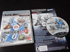 Playstation 3 PS3 complete in case Madden NFL 13 tested