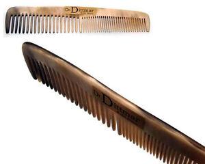 Dr.Dittmar Horn Comb for Men Fine & Rough Zinkung Pocket Comb Handmade