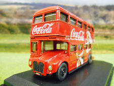 OXFORD COCA COLA CHRISTMAS SANTA CLASSIC AEC ROUTEMAN LONDON BUS 1/76 76RM114CC