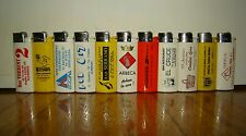 11 ACCENDINI CLIPPER/BRIO-LARGE SIZE-ANNI 90-LIGHTERS-MECHEROS-BRIQUET-SMOKING