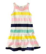 Robes multicolores 6 ans pour fille de 2 à 16 ans en 100% coton
