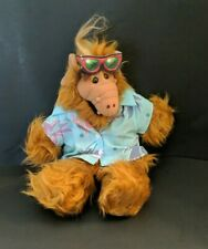 Alf Hand Puppet Burger King with Hawaiian Shirt Plush Vintage 1988