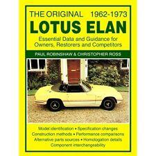 L'ORIGINALE LOTUS ELAN dati essenziali & guida per i proprietari restorers & COMPETI