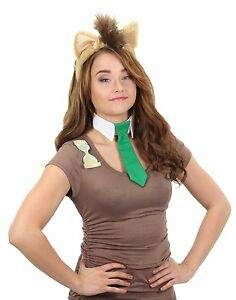 My Little Pony Dr Hooves Costume Accessory Kit Ears Headband Tie Who Cosplay NEW