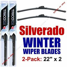 1999-2016 Chevy Chevrolet Silverado WINTER Wiper Blades 2-Pack - 35220x2