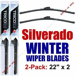 1999-2016 Chevy Chevrolet Silverado WINTER Wiper Blades 2-Pack - 35220x2