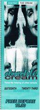 DESTINY THE CREAM Rave Flyer Flyers 16/10/93 A5 Oscars Clacton on Sea Ian Wright