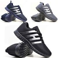 Mens Light Weight Shock Absorbing Running Walking Trainers Jogging Gym Shoes Siz