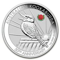 2020 ANDA Sydney - Kookaburra 1oz Silver Coin With Waratah Privy Mark