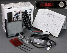HKS TYPE-0 ZERO BLACK ELECTRONIC TURBO TIMER RED BACKLIT LCD