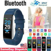 WomenMen Fitness Smart Watch Activity Tracker Kids For Android iOS Heart