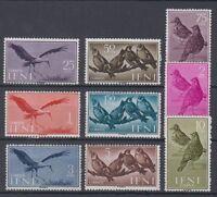 IFNI (1960) MNH EDIFIL 163/71 NUEVO SIN FIJASELLOS SPAIN PAJAROS AVES