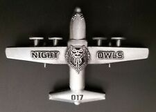 More details for usaf 67th sos 'night owls' 352nd sog mc-130j raf mildenhall challenge coin