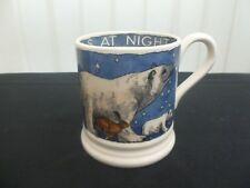 Emma Bridgewater Winter Animals At Night 1/2 Pint Mug New Unused Second Quality