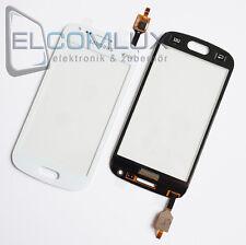 Touch Screen Glas Digitizer Display Samsung Galaxy S Duos 2 S7582 S7580 Weiß