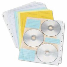 Innovera Two-sided Cd/dvd Pages For Three-ring Binder, 10/pack - Sleeve (39301)