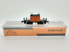 Milwaukee Road Transfer Caboose #01744 N - Fox Valley Models #FVM 91160