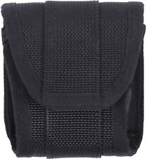 Black Police Handcuff Case Pouch for Police Duty Belt