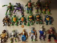 TMNT Teenage Mutant Ninja Turtles Lot vintage 1988 1989 1990 1992 2014 pizza