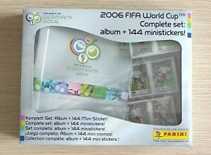 PANINI WC GERMANY 2006 WORLD CUP MINISTICKER COMPLETE SET MESSI RONALDO ROOKIE