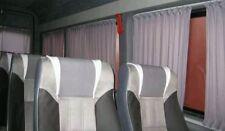 Mercedes Sprinter VW LT LWB Fenster Vorhänge voll komplettes Satz grau Farbe