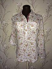 Zara Cotton Collared Regular Size Tops & Shirts for Women