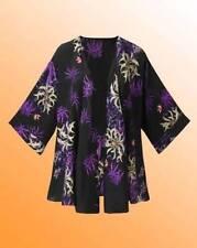 Hip Length Kimono Plus Size Coats & Jackets for Women