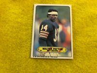 WALTER PAYTON , CHICAGO BEARS , 1983 TOPPS STICKER , FOOTBALL CARD #24 MINT RARE
