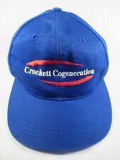 Crockett Cogeneration Global Energy Innovations Blue Adjustable Baseball Cap Hat