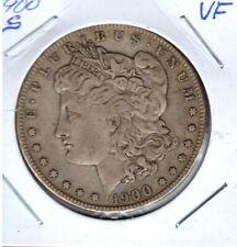 1900-s MORGAN SILVER DOLLAR GRADES VERY FINE #C3303