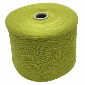 39,80€/kg Pastell Grün 1000gr. Häkeln Stricken Strickmaschinengarn Merino Wolle