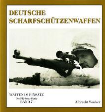 Deutsche Scharfschützen-Waffen Karabiner 98k Typen Fotos Geschichte Modelle Buch