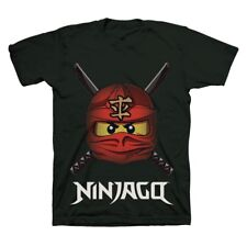 "LEGO Ninjago ""Ready to Battle Face"" T-Shirt, Tagless, Size 5/6, NEW and Sealed!"