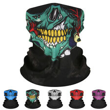 (3 Pack Set) Neck Gaiter Neckerchief Bandanna Headband Sun Face Shield Bike Mask