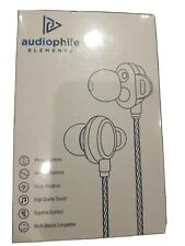 Audiophile Elements Platinum  Earbuds Multi Device Compatible, Playback Controls