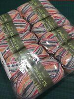 10 x 102 Harper 50g balls Sirdar crofter DK double knit wool blend