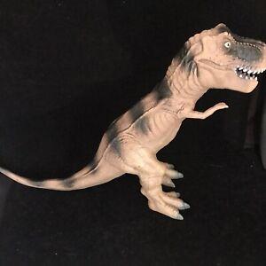 "Large TOYS R US Tyrannosaurus T-REX Dinosaur 19"" Long Rubber Figure Toy RARE"