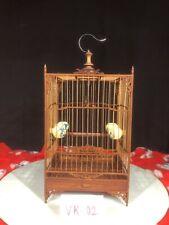 Asian Bamboo Bird Cage Vk-02