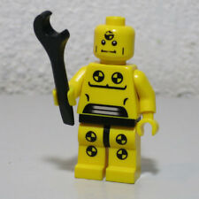 Demolition Dummy Series 1 Crash Test Wrench LEGO Minifigure Mini Figure Fig
