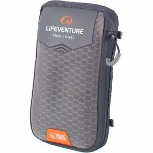 Lifeventure HydroFibre Trek Towel - Large - Grey