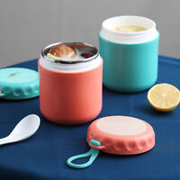 Food Thermos Stainless Steel Milk Soup Containers Leakproof Lunch Box Cup YI